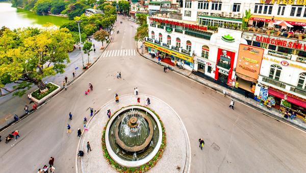 Khu vực Quảng trường Đông Kinh Nghĩa Thục - Sputnik Việt Nam