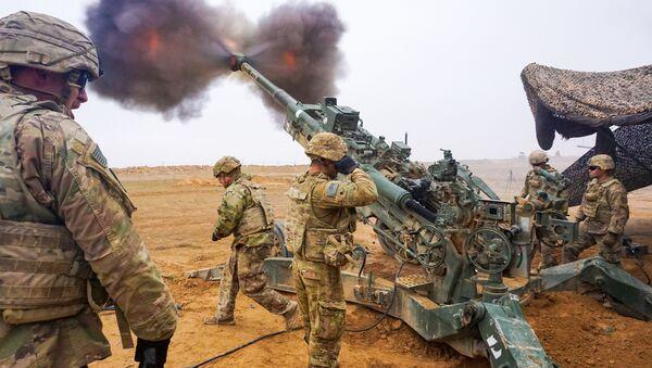 Quân đội Mỹ tại Syria - Sputnik Việt Nam