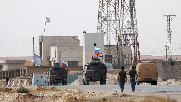 Nhân viên quân cảnh Nga tại Syria - Sputnik Việt Nam