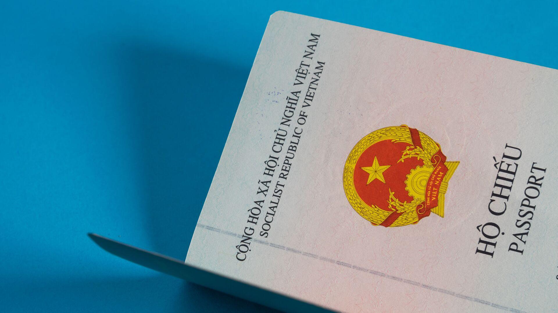 Hộ chiếu Việt Nam - Sputnik Việt Nam, 1920, 07.10.2021