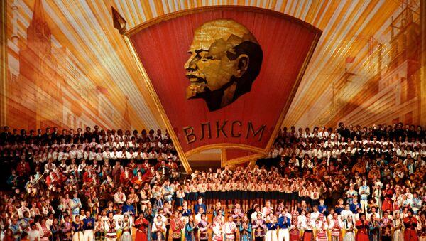 Buổi hòa nhạc dành riêng cho lễ kỷ niệm 60 năm của Komsomol - Sputnik Việt Nam