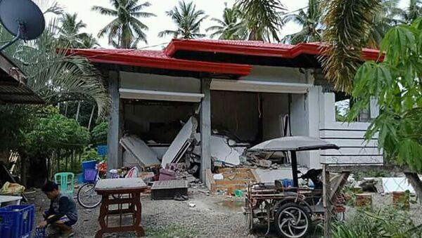 Động đất lớn tại Philippines - Sputnik Việt Nam