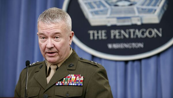 Chỉ huy Bộ Tư lệnh Trung ương Hoa Kỳ Kenneth McKenzie - Sputnik Việt Nam