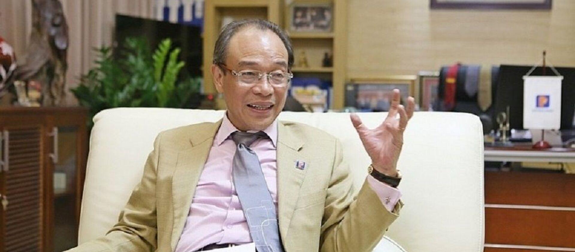 Ông Bùi Ngọc Bảo, nguyên Chủ tịch HĐQT Tập đoàn Xăng dầu Việt Nam. - Sputnik Việt Nam, 1920, 31.10.2019