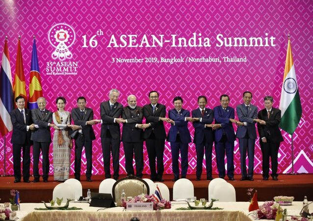 Hội nghị Cấp cao ASEAN-Ấn Độ lần thứ 16 với phần tham gia của Thủ tướng Ấn Độ Narendra Modi