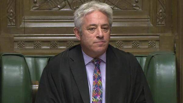 Cựu chủ tịch Hạ viện Quốc hội Anh, John Birkow - Sputnik Việt Nam