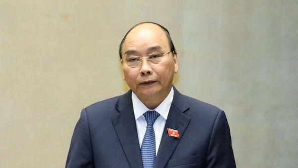 Thủ tướng Nguyễn Xuân Phúc trả lời chất vấn. - Sputnik Việt Nam