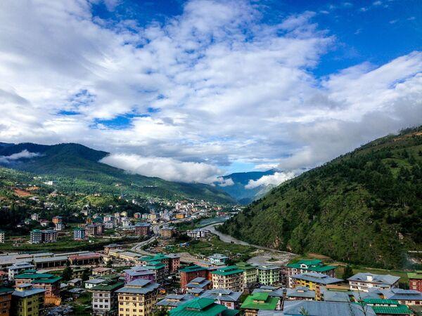 Quang cảnh làng quê ở Bhutan - Sputnik Việt Nam