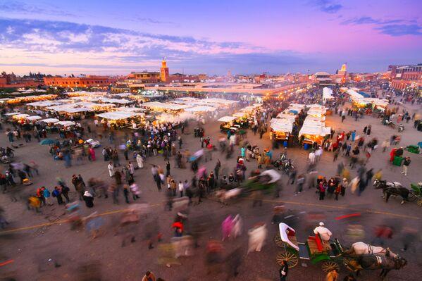 Khu vực mua sắm ở Marrakech, Morocco - Sputnik Việt Nam