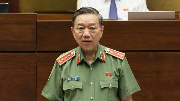 Bộ trưởng Bộ Công an Tô Lâm  - Sputnik Việt Nam