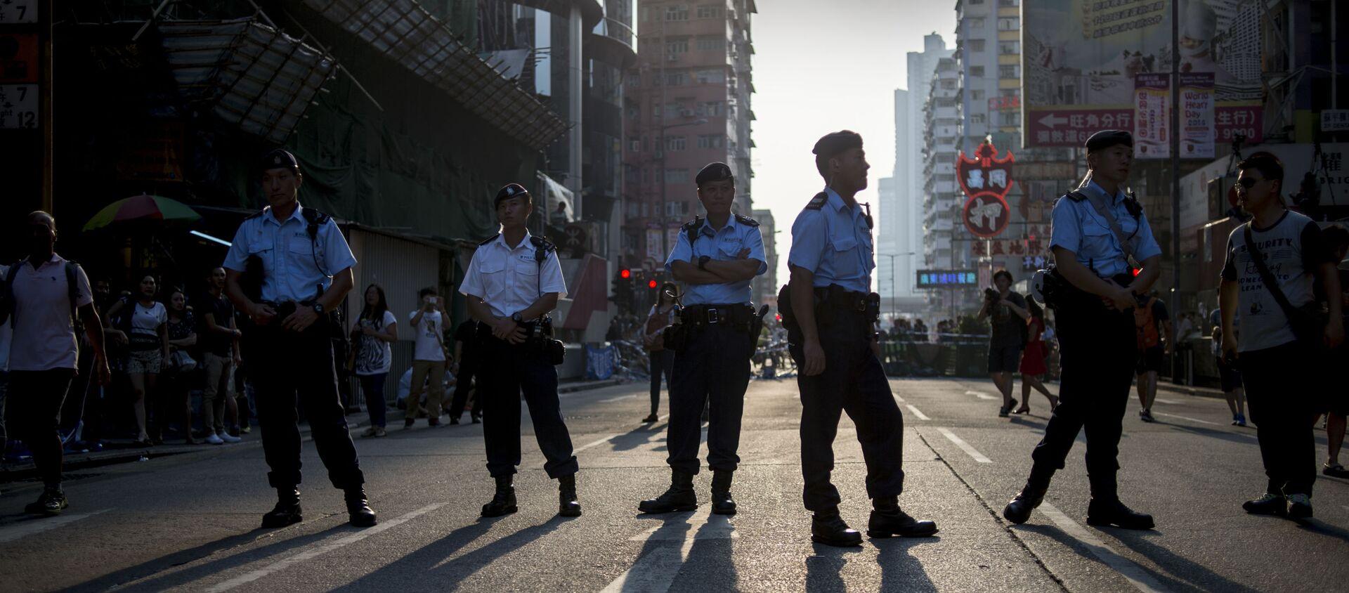 Hồng Kông quyết định lập đội đặc nhiệm ưu tú để chống lại bạo loạn - Sputnik Việt Nam, 1920, 01.03.2021