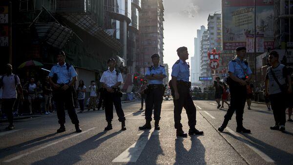 Hồng Kông quyết định lập đội đặc nhiệm ưu tú để chống lại bạo loạn - Sputnik Việt Nam