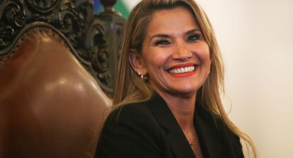 Tổng thống lâm thời của Bolivia Janine Agnes