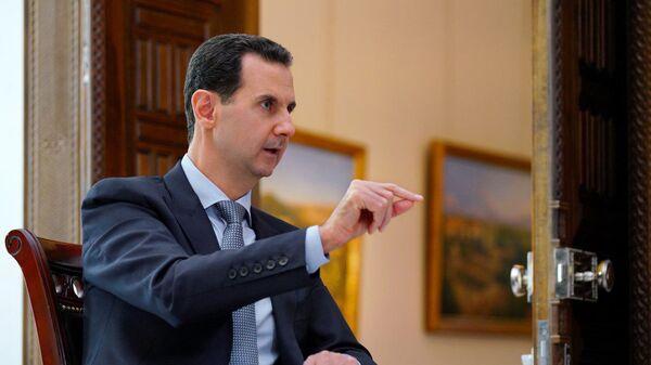 Tổng thống Syria Bashar al-Assad đã trả lời phỏng vấn Sputnik và kênh Russia 24 - Sputnik Việt Nam