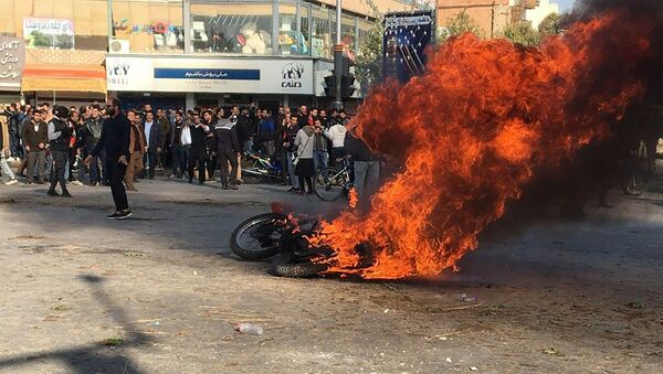 Сuộc bạo loạn ở Iran - Sputnik Việt Nam