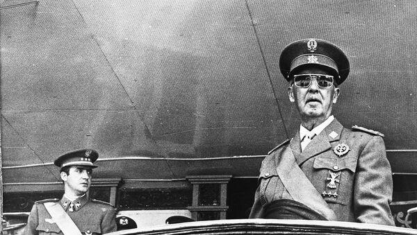 Francisco Franco, nhà lãnh đạo tối cao của Tây Ban Nha từ năm 1936 đến 1975 - Sputnik Việt Nam