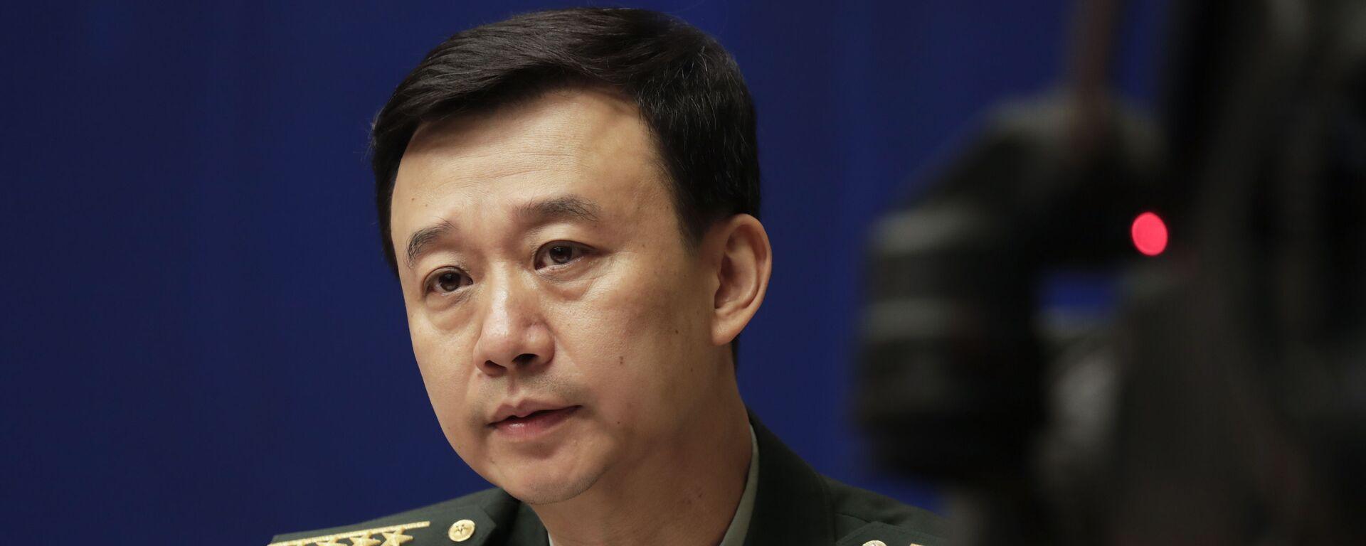 Người phát ngôn Bộ Quốc phòng Trung Quốc Wu Qian - Sputnik Việt Nam, 1920, 30.09.2021