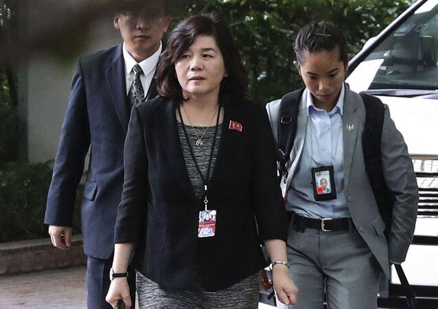 Thứ trưởng Ngoại giao CHDCND Triều Tiên Choi Song Hee