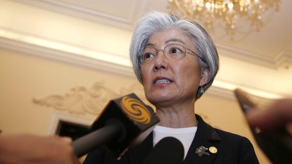 Bộ trưởng Ngoại giao Hàn Quốc Kang Gen Hwa - Sputnik Việt Nam