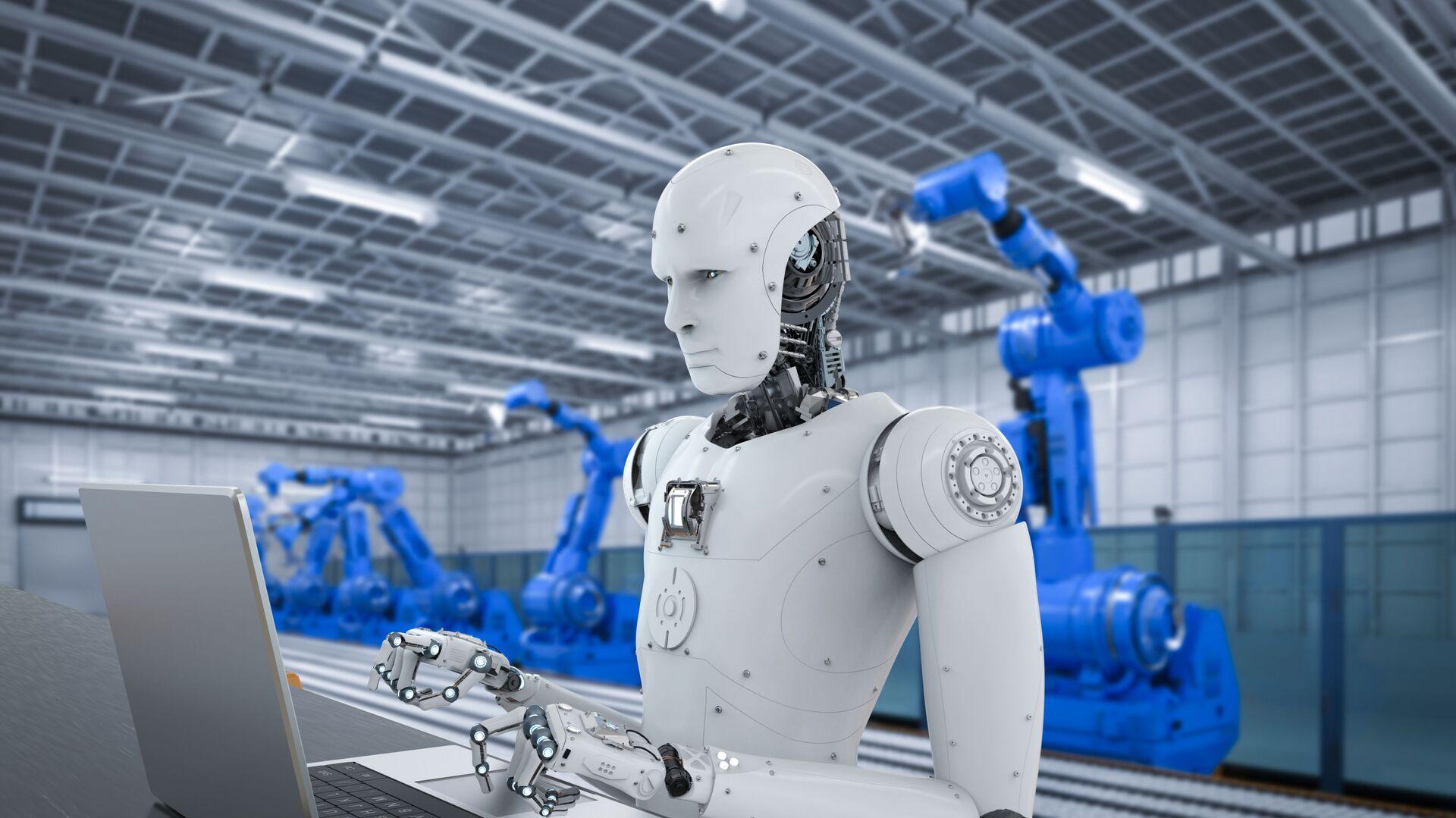Robot có trí tuệ nhân tạo  - Sputnik Việt Nam, 1920, 25.09.2021