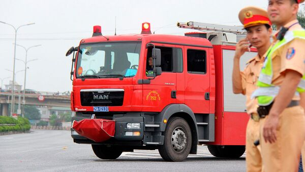 Xe chữa cháy - Sputnik Việt Nam