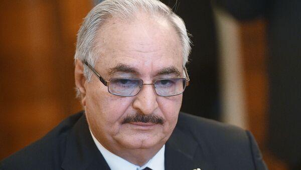 Tư lệnh Quân đội quốc gia Libya Khalifa Haftar - Sputnik Việt Nam
