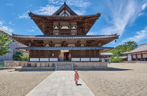 Bức ảnh ngôi chùa Phật giáo Horyu-ji ở Nhật Bản của Sara Rawlinson, người vào chung kết Historic Photographer of the Year 2019 - Sputnik Việt Nam