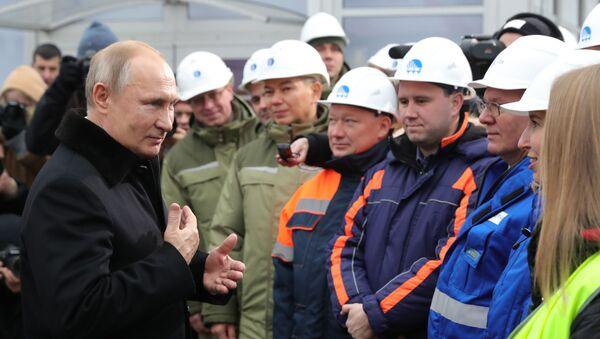Tổng thống Putin khánh thành con đường cao tốc M-11 thu phí Moskva - St. Petersburg - Sputnik Việt Nam