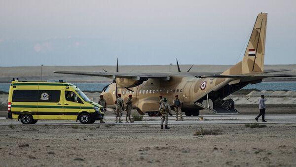 Việc tìm kiếm được tiếp tục trở lại tại khu vực rơi của A321 ở Ai Cập - Sputnik Việt Nam