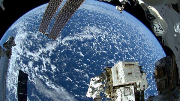 Trái đất nhìn từ không gian vũ trụ - Sputnik Việt Nam