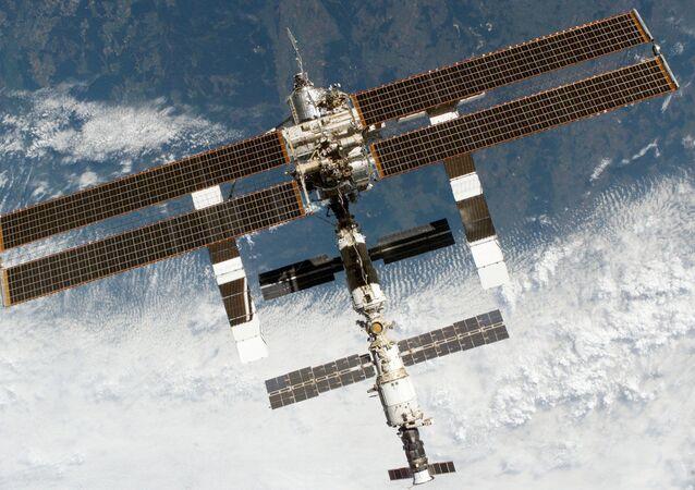 Trạm vũ trụ quốc tế trong không gian