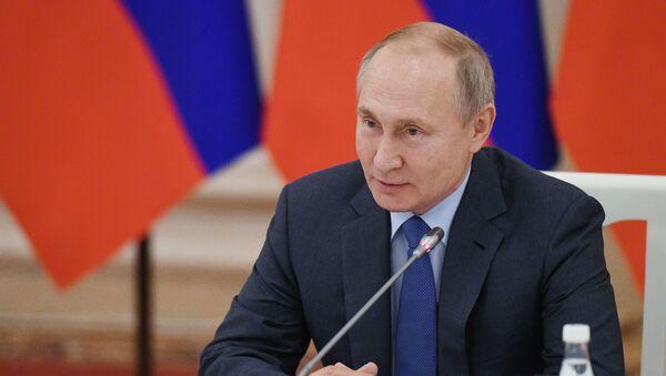 Chuyến thăm làm việc của Tổng thống Nga V. Putin tới Kabardino-Balkaria - Sputnik Việt Nam