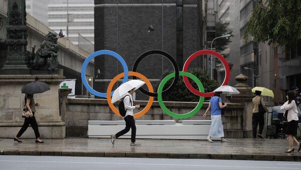 Logo Olympic tại Tokyo  - Sputnik Việt Nam