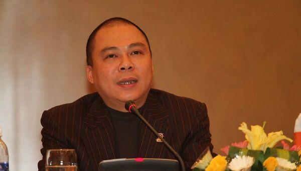 Ông Phạm Nhật Vũ, Chủ tịch HĐQT Cty cổ phần nghe nhìn Toàn Cầu (AVG)  - Sputnik Việt Nam