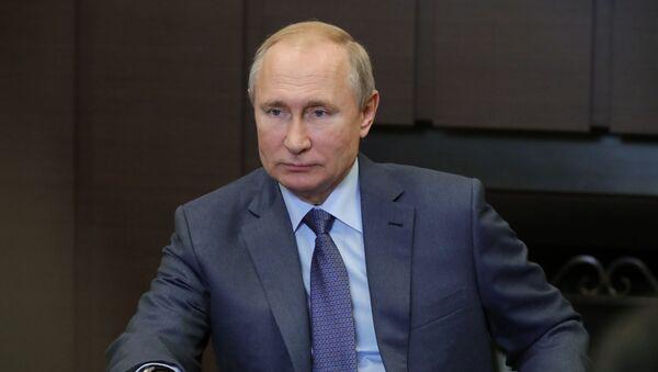 Tổng thống Nga V. Putin đã gặp Thủ tướng Mông Cổ W. Hurelsukh - Sputnik Việt Nam