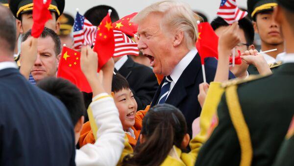 Trump ở Trung Quốc - Sputnik Việt Nam
