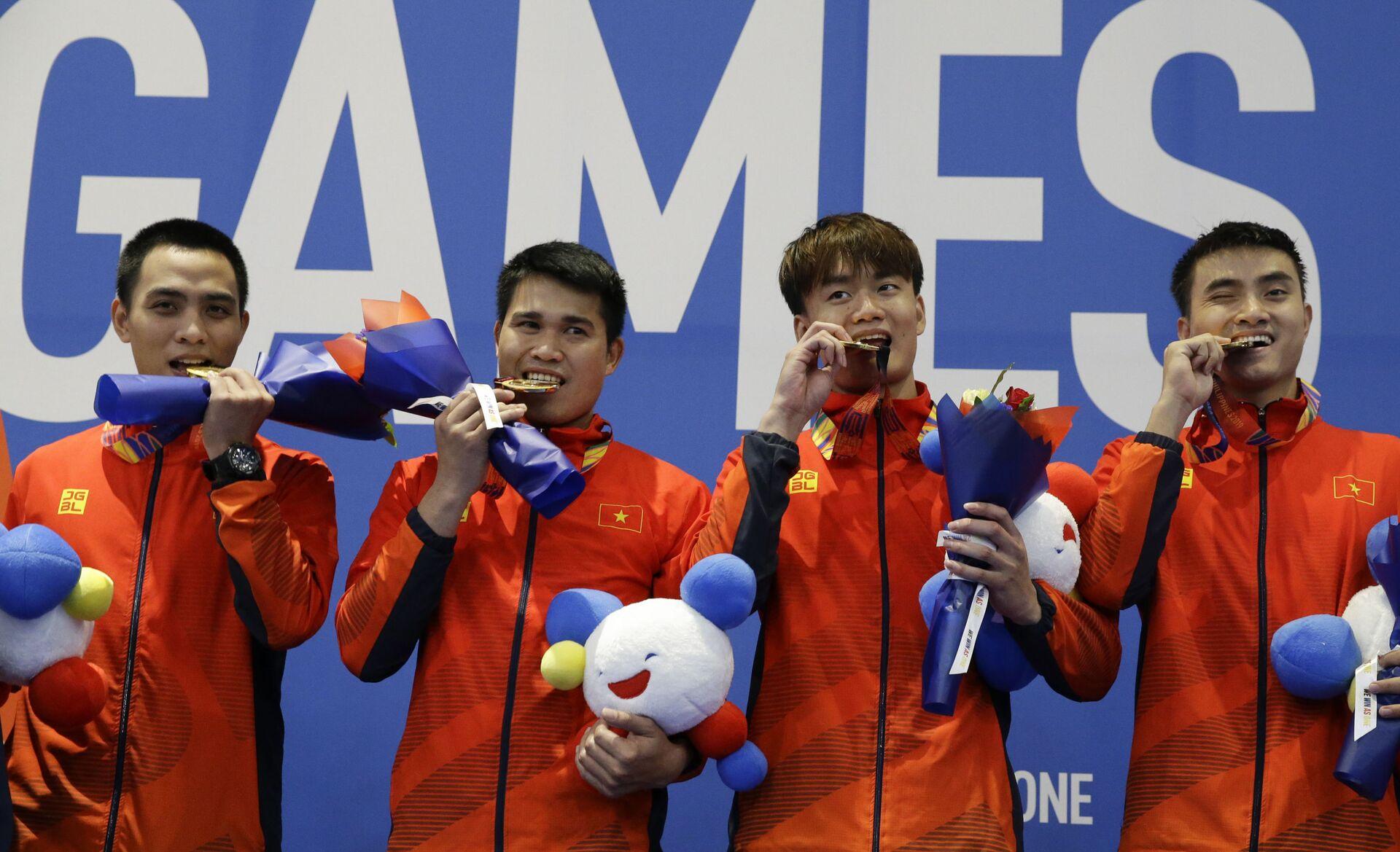 Thể thao Việt Nam đã có 18 vé dự Olympic Tokyo 2020 - Sputnik Việt Nam, 1920, 05.07.2021