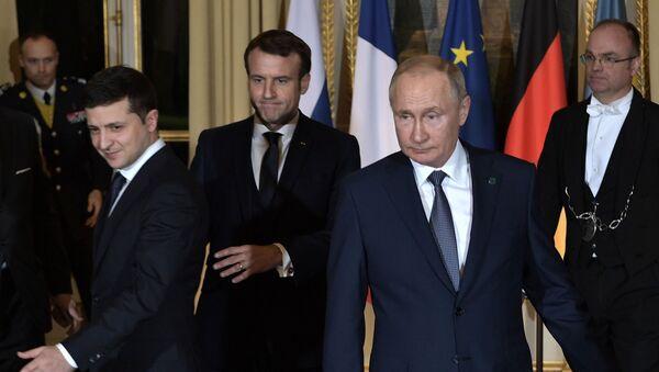 Vladimir Putin và Vladimir Zelensky - Sputnik Việt Nam