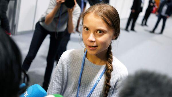 Nhà hoạt động môi trường Greta Thunberg - Sputnik Việt Nam