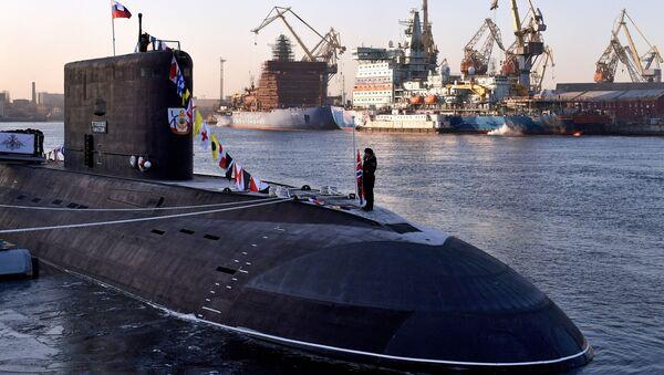 Tàu ngầm mới nhất của Nga B-274 Petropavlovsk-Kamchatsky - Sputnik Việt Nam