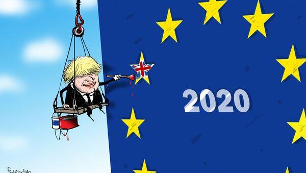 Brexit sẽ xảy ra... vào năm 2020 - Sputnik Việt Nam