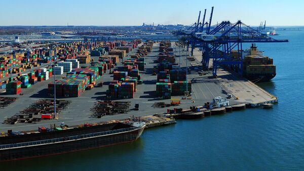 Порт американского города Балтимор - Sputnik Việt Nam
