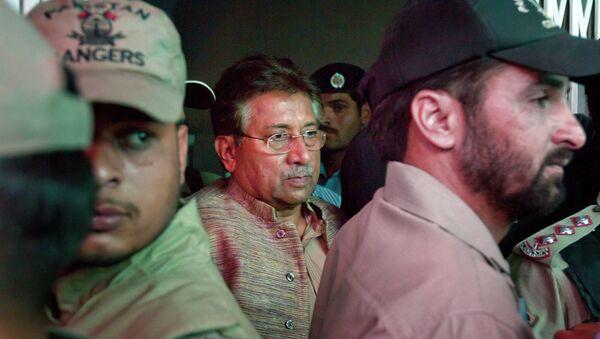Cựu Tổng thống Pakistan Musharraf  - Sputnik Việt Nam