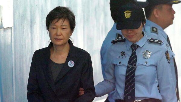 Cưụ tổng thống Hàn Quốc Park Geun-hye - Sputnik Việt Nam