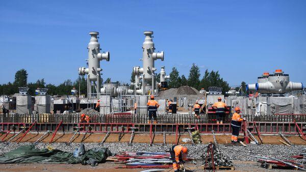 Việc xây dựng Dòng chảy phương Bắc-2 - Sputnik Việt Nam