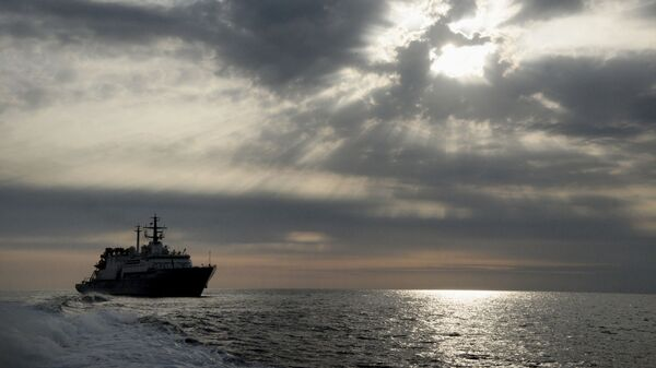 Tàu cứu hộ Igor Belousov của Hạm đội Thái Bình Dương - Sputnik Việt Nam