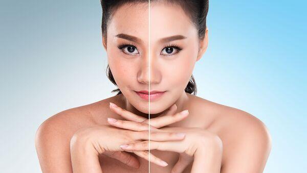 Cô gái trước và sau Photoshop - Sputnik Việt Nam