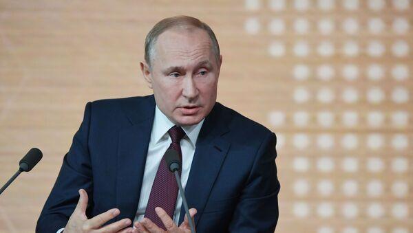 Cuộc họp báo lớn của Tổng thống Vladimir Putin - Sputnik Việt Nam