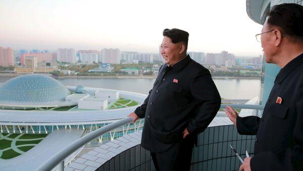Lãnh đạo Triều Tiên Kim Jong-un - Sputnik Việt Nam