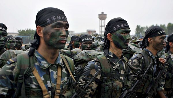 Lính thủy quân lục chiến Trung Quốc - Sputnik Việt Nam